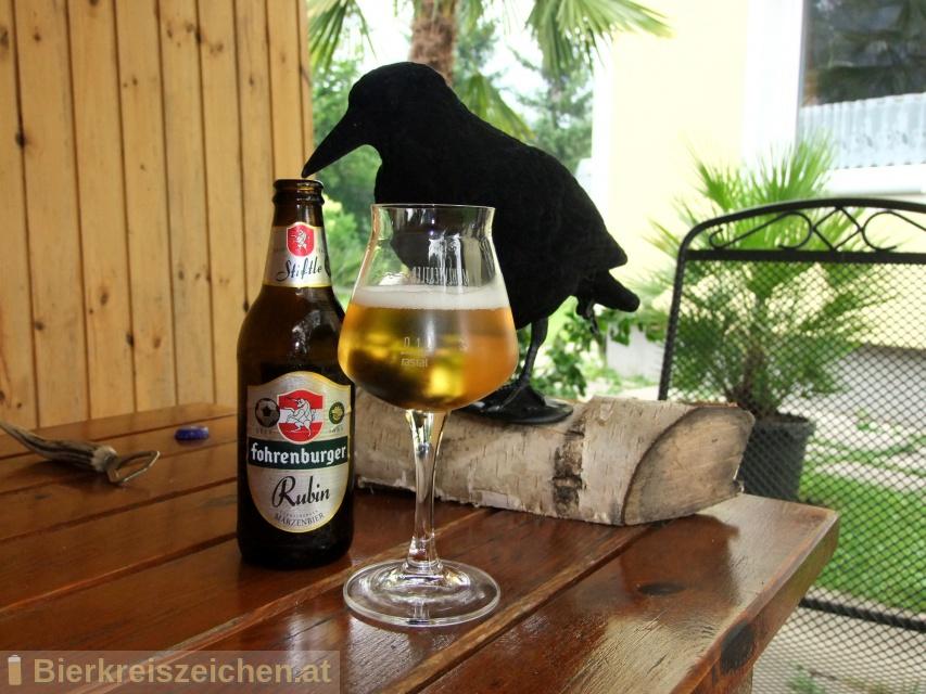 Foto eines Bieres der Marke Fohrenburger Stiftle aus der Brauerei Fohrenburger