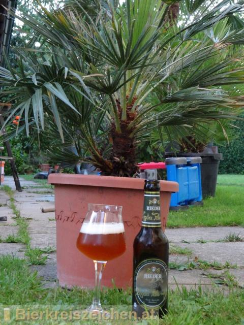Foto eines Bieres der Marke Rieder India Pale Ale aus der Brauerei Brauerei Ried