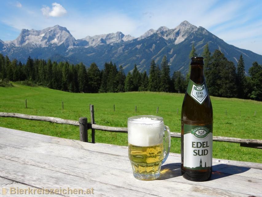 Foto eines Bieres der Marke Grieskirchner Edelsud aus der Brauerei Brauerei Grieskirchen