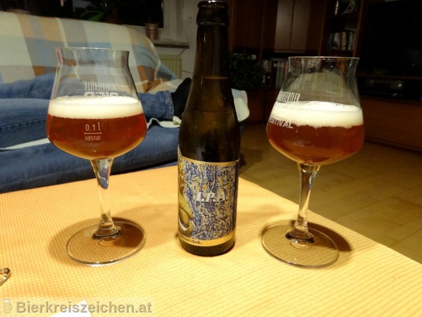 Foto eines Bieres der Marke Flecks I.P.A. aus der Brauerei Flecks