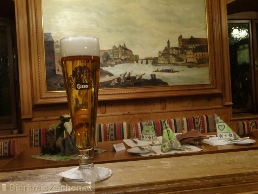 Foto eines Bieres der Marke Weihnachtsbock aus der Brauerei Brauerei Göss