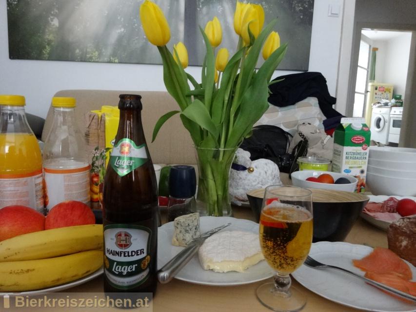Foto eines Bieres der Marke Hainfelder Radler aus der Brauerei Brauerei Hainfeld