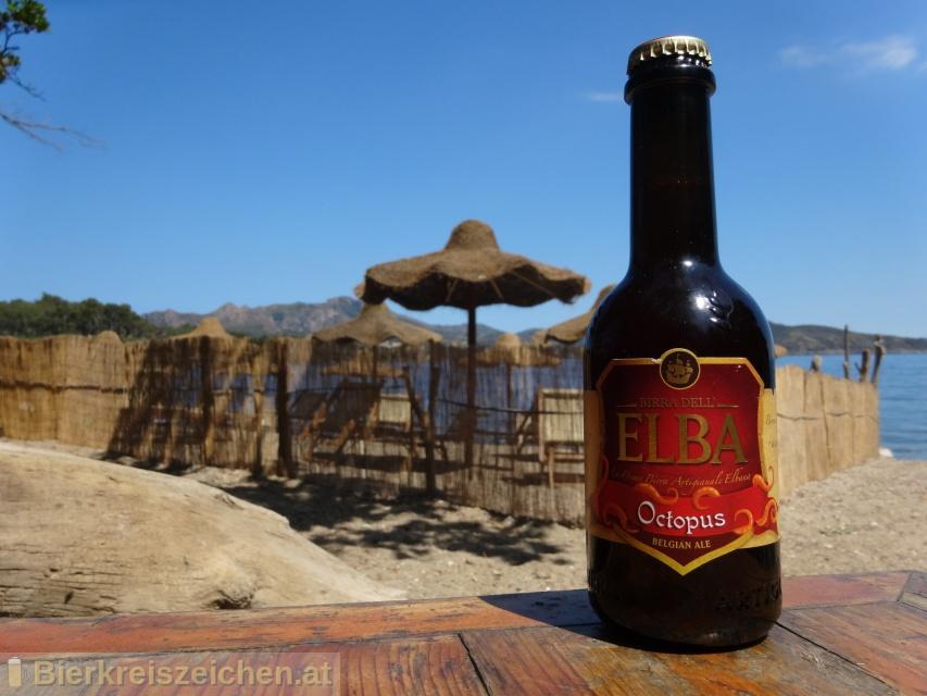 Foto eines Bieres der Marke Octopus (Belgian Ale) aus der Brauerei Birra dell'Elba