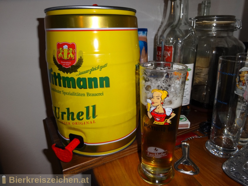 Foto eines Bieres der Marke Wittmann Urhell aus der Brauerei Brauerei Wittmann