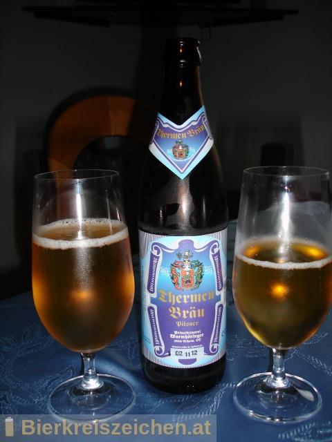 Foto eines Bieres der Marke Wurmhöringer - Thermenbräu aus der Brauerei Wurmhöringer