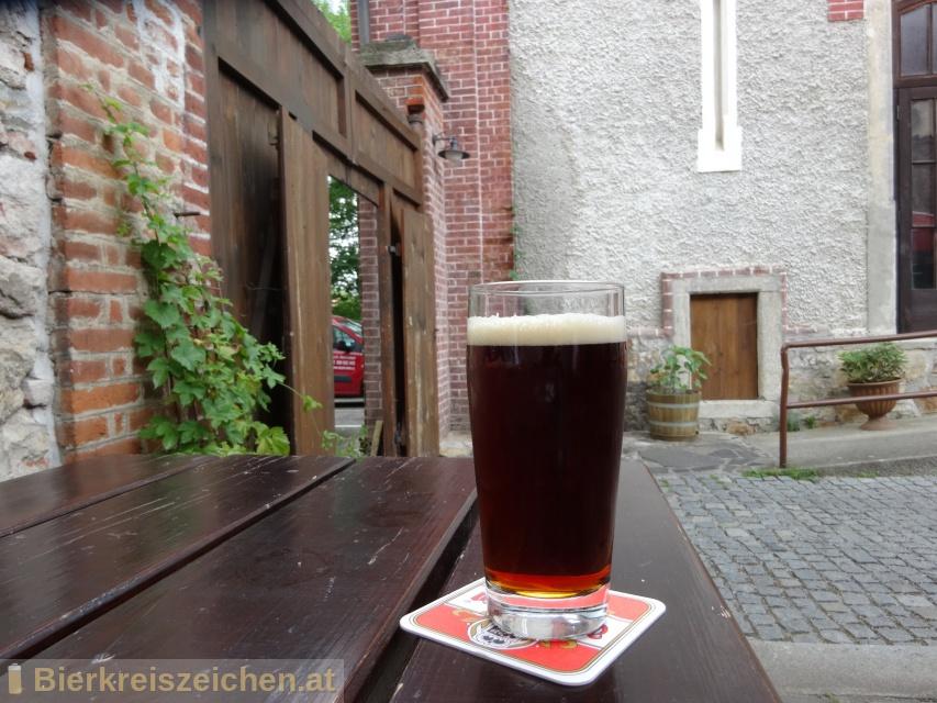 Foto eines Bieres der Marke Eggenberg Tmavý ležák aus der Brauerei Pivovar Eggenberg