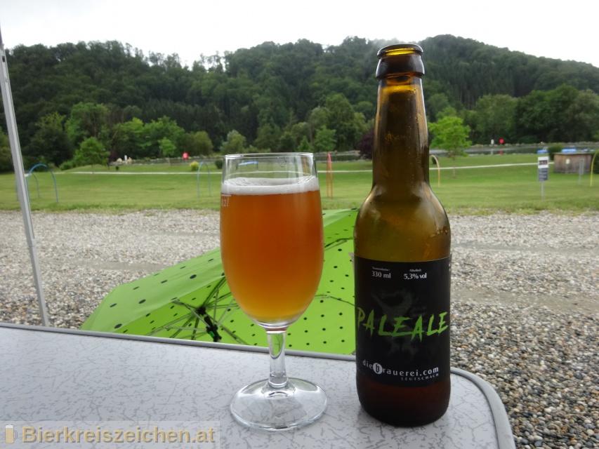 Foto eines Bieres der Marke Pale Ale aus der Brauerei diebrauerei Leutschach GmbH