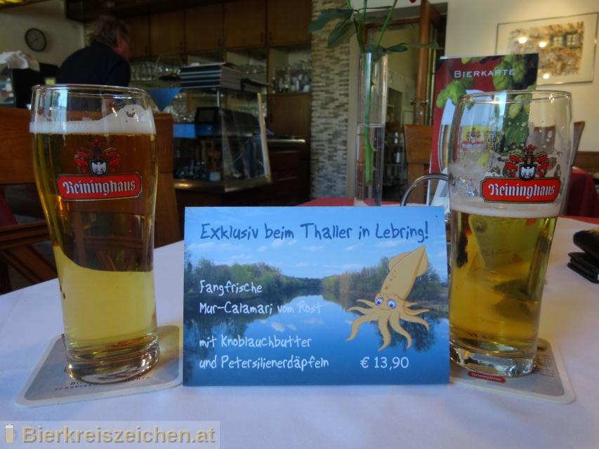Foto eines Bieres der Marke Reininghaus Märzen aus der Brauerei Brauerei Puntigam