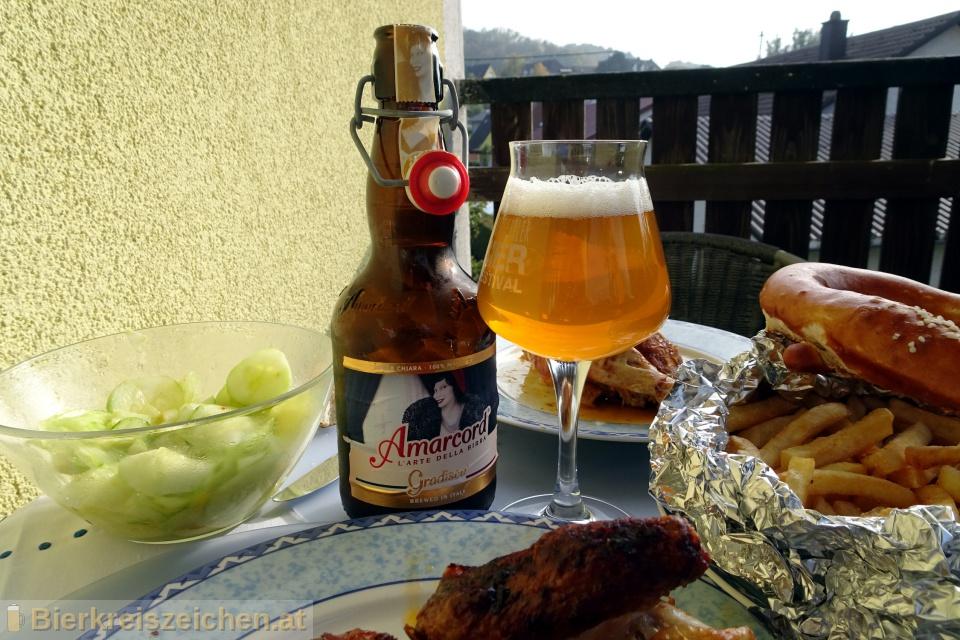 Foto eines Bieres der Marke Gradisca aus der Brauerei Birra Amarcord
