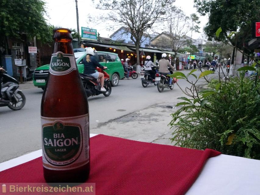 Foto eines Bieres der Marke Bia Saigon Lager aus der Brauerei Sabeco