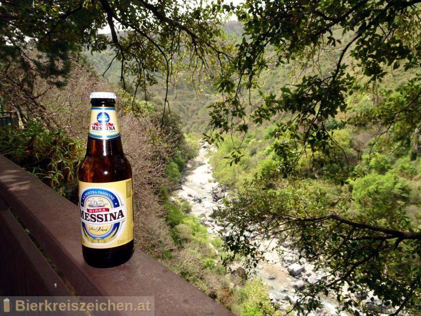 Foto eines Bieres der Marke Birra Messina aus der Brauerei Heineken Italia S.p.A