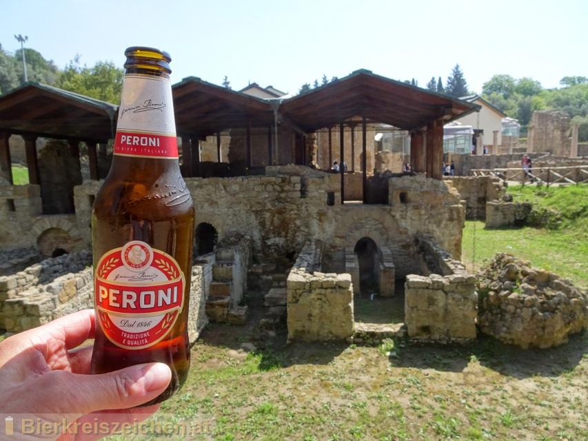 Foto eines Bieres der Marke Peroni aus der Brauerei Birra Peroni S.p.A.