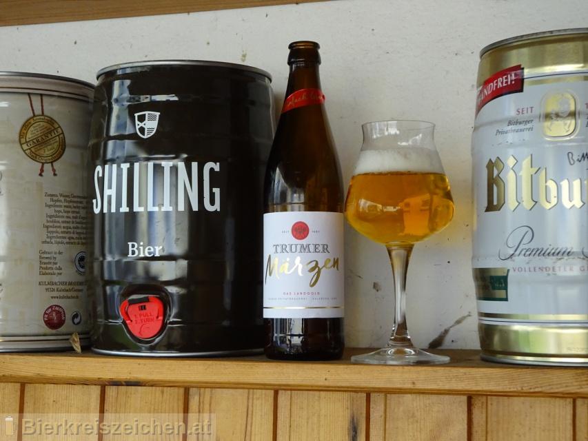 Foto eines Bieres der Marke Trumer Märzen aus der Brauerei Trumer Privatbrauerei