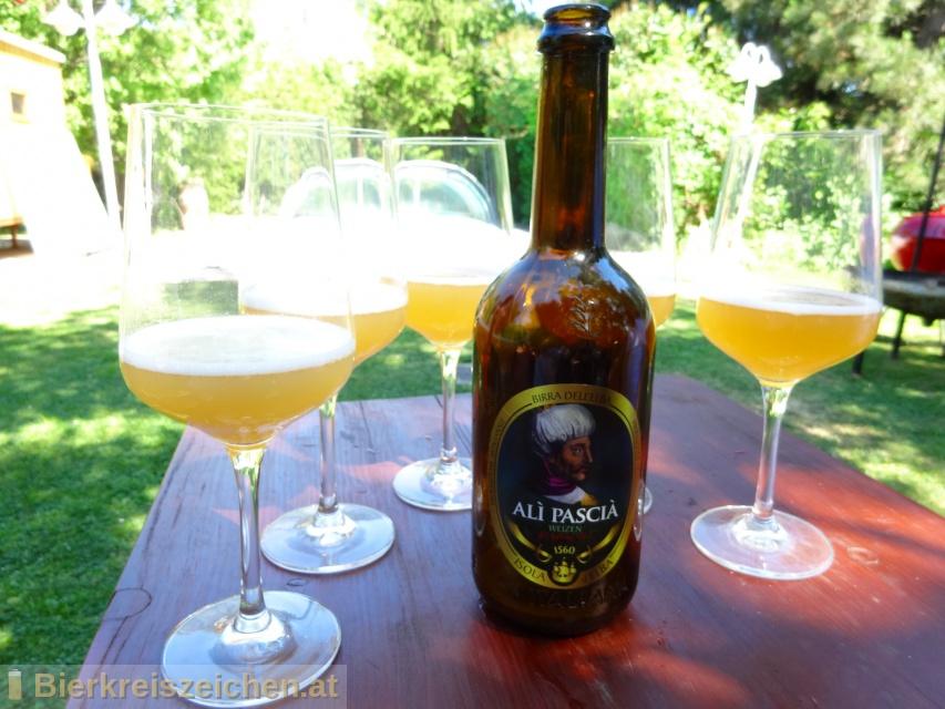 Foto eines Bieres der Marke Ali Pascià aus der Brauerei Birra dell'Elba