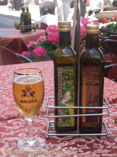 Foto eines Bieres der Marke Holsten Premium aus der Brauerei Holsten-Brauerei