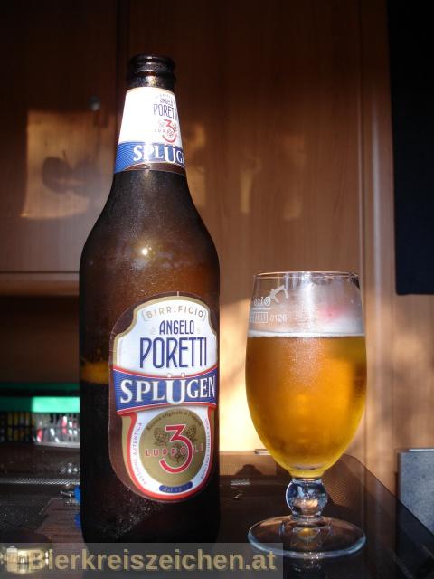 Foto eines Bieres der Marke Splügen / 3 Luppoli aus der Brauerei Carlsberg Italia