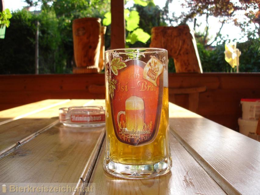 Foto eines Bieres der Marke Isi-Bräu Zwickl aus der Brauerei Isi-Bräu