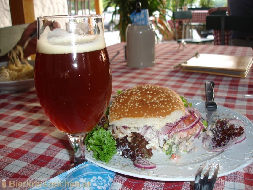 Foto eines Bieres der Marke Raggei-Vollmond Moorbier aus der Brauerei Raggei-Bräu