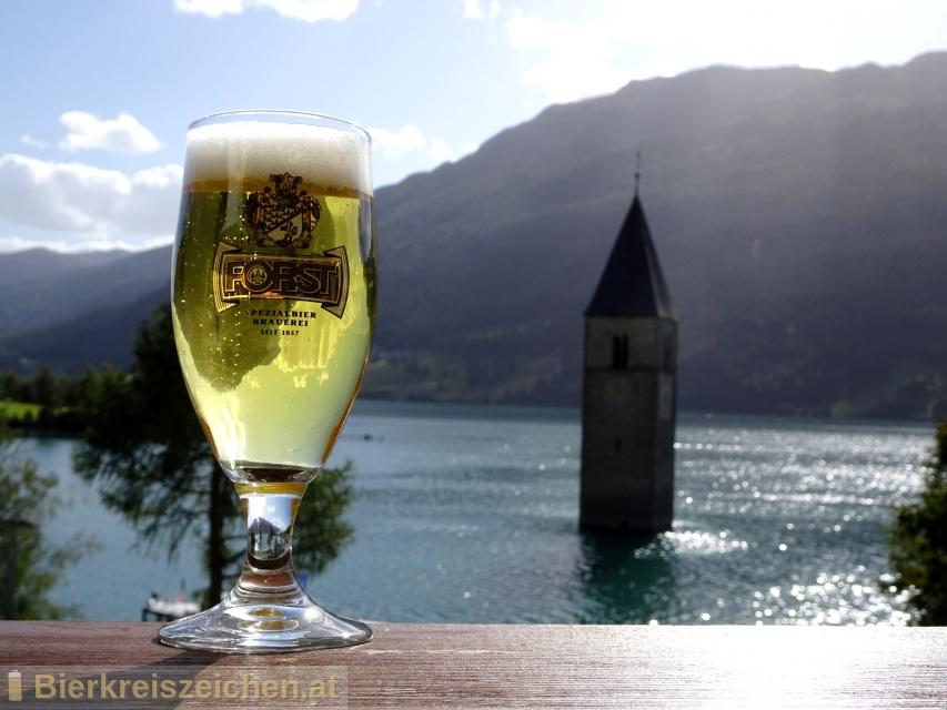 Foto eines Bieres der Marke V.I.P. Pils aus der Brauerei Forst