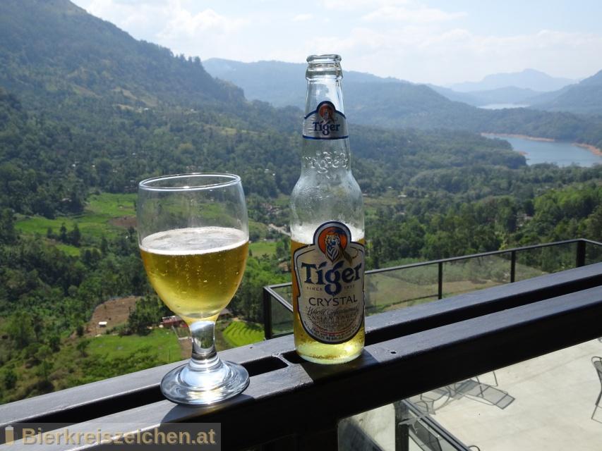 Foto eines Bieres der Marke Tiger Crystal aus der Brauerei Heineken Asia Pacific