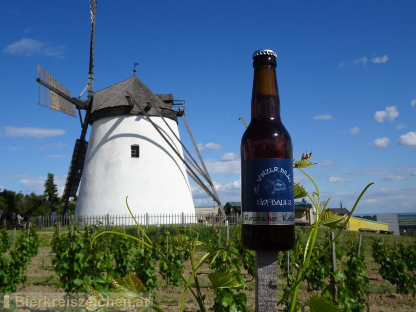 Foto eines Bieres der Marke Retzbacher Kellerbier  aus der Brauerei Winzerbräu