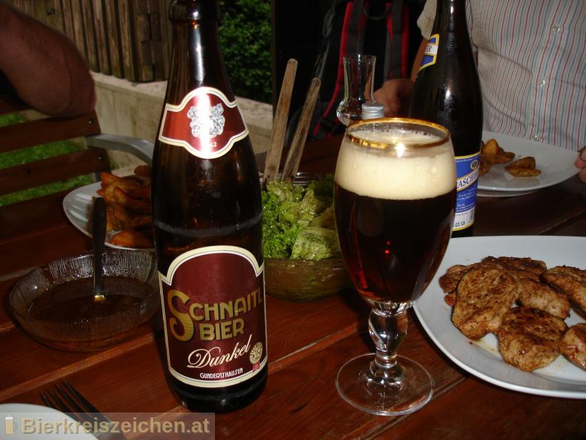 Foto eines Bieres der Marke Schnaitl Dunkel aus der Brauerei Brauerei Schnaitl