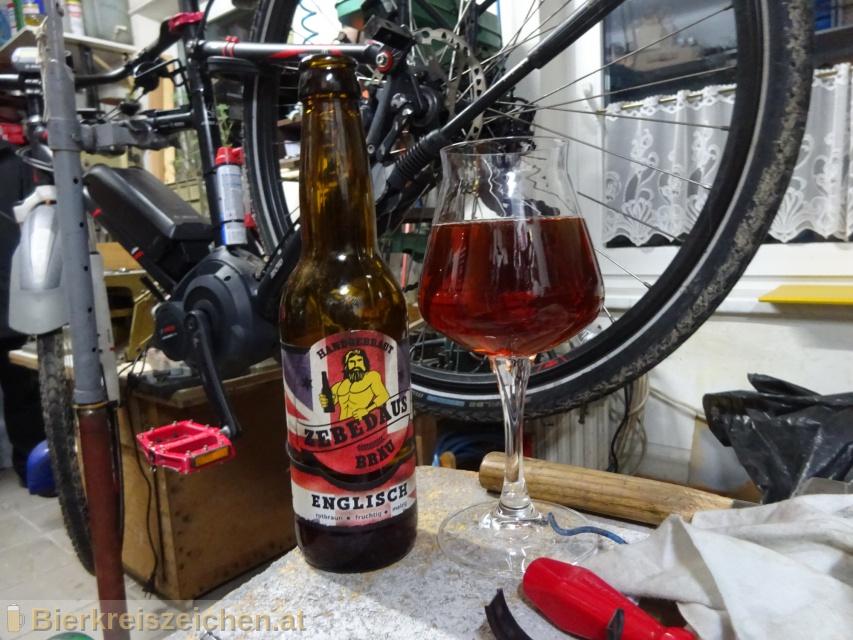 Foto eines Bieres der Marke Zebedäus Englisch aus der Brauerei Zebedäus Bräu