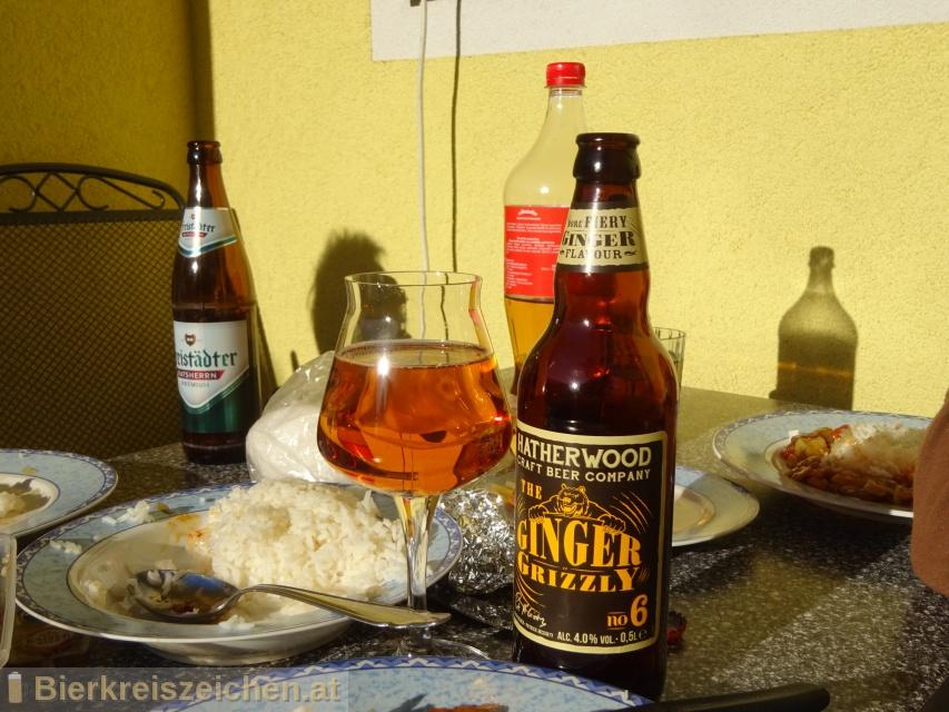 Foto eines Bieres der Marke Hatherwood no 6 - The Ginger Grizzly aus der Brauerei Lidl