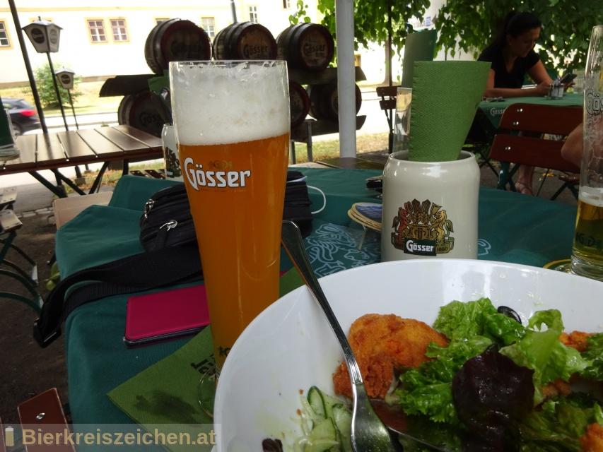 Foto eines Bieres der Marke Stifts-Zwickl Hell aus der Brauerei Brauerei Göss