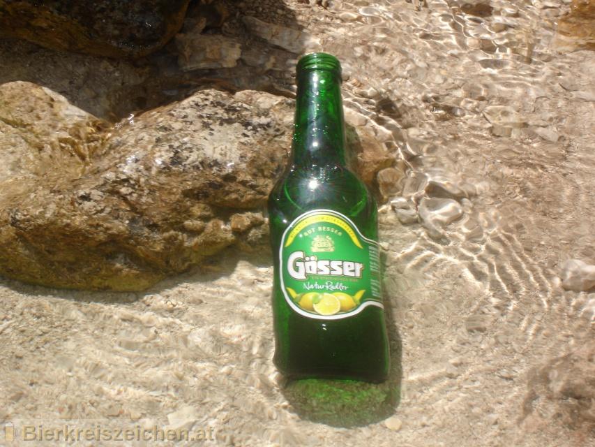 Foto eines Bieres der Marke Gösser NaturRadler aus der Brauerei Brauerei Göss