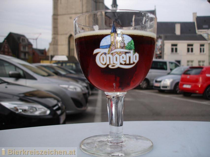 Foto eines Bieres der Marke Tongerlo Brown aus der Brauerei Haacht Brewery plc