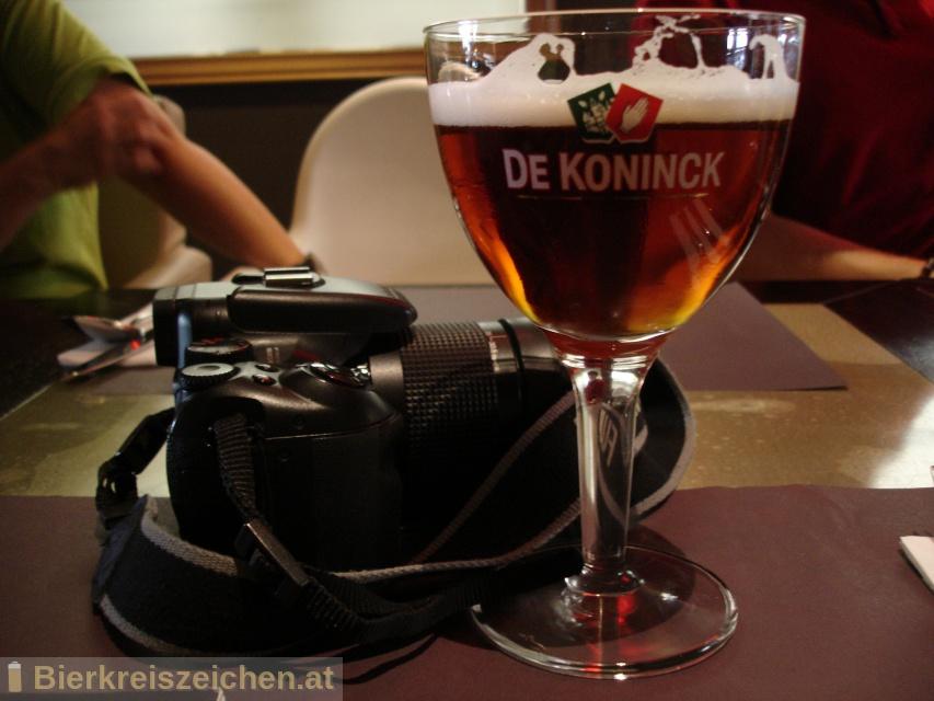 Foto eines Bieres der Marke De Koninck aus der Brauerei Brouwerij De Koninck