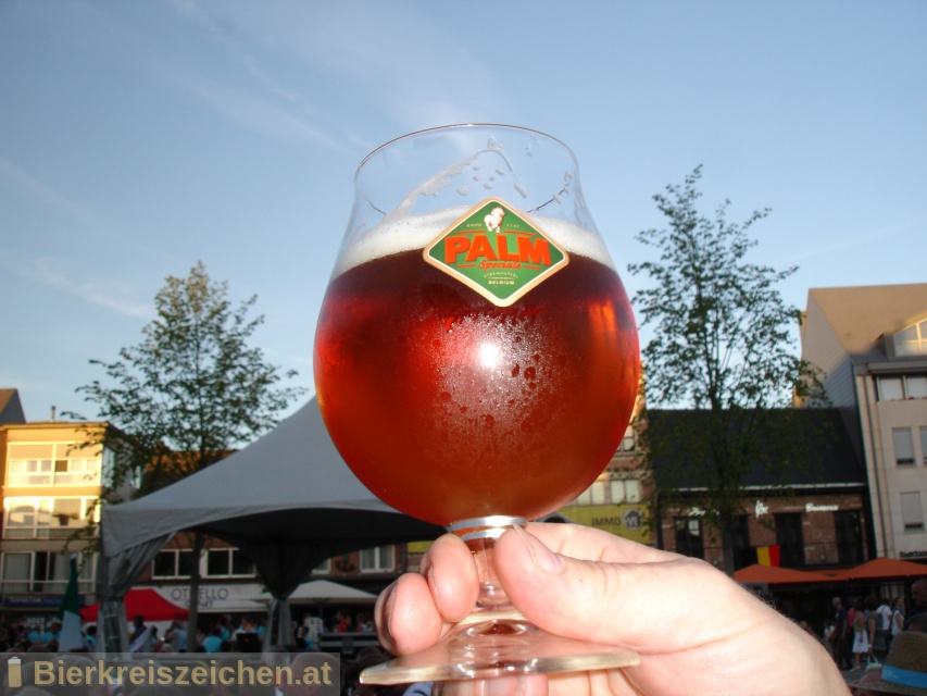 Foto eines Bieres der Marke Palm Speciale aus der Brauerei PALM Breweries