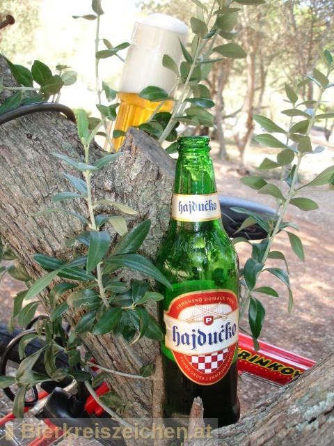 Foto eines Bieres der Marke Hajducko aus der Brauerei Carlsberg Croatia d.o.o.