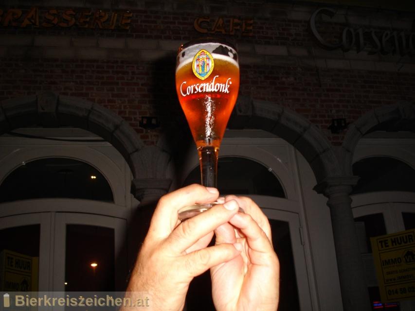 Foto eines Bieres der Marke Corsendonk Blond aus der Brauerei Brouwerij Corsendonk