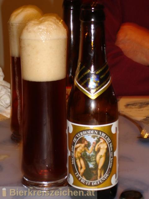 Foto eines Bieres der Marke De Verboden Vrucht aus der Brauerei Brouwerij van Hoegaarden