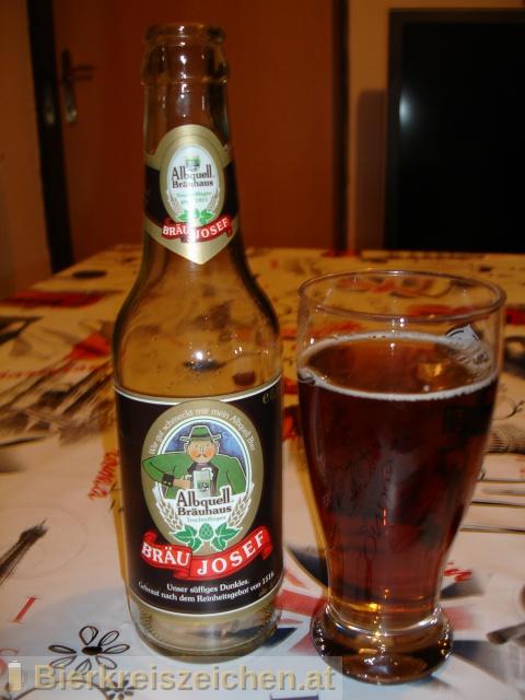 Foto eines Bieres der Marke Bräu Josef aus der Brauerei Albquell Bräuhaus - Auberger & Schmid GmbH & Co