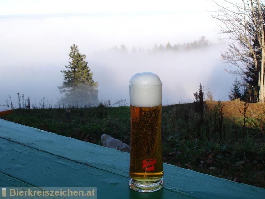 Foto eines Bieres der Marke Stiegl Herbstgold aus der Brauerei Stieglbrauerei