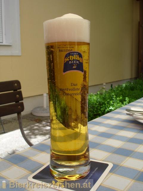 Foto eines Bieres der Marke Schlägl Kristall aus der Brauerei Stiftsbrauerei Schlägl