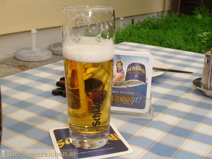 Foto eines Bieres der Marke Schlägl Urquell aus der Brauerei Stiftsbrauerei Schlägl