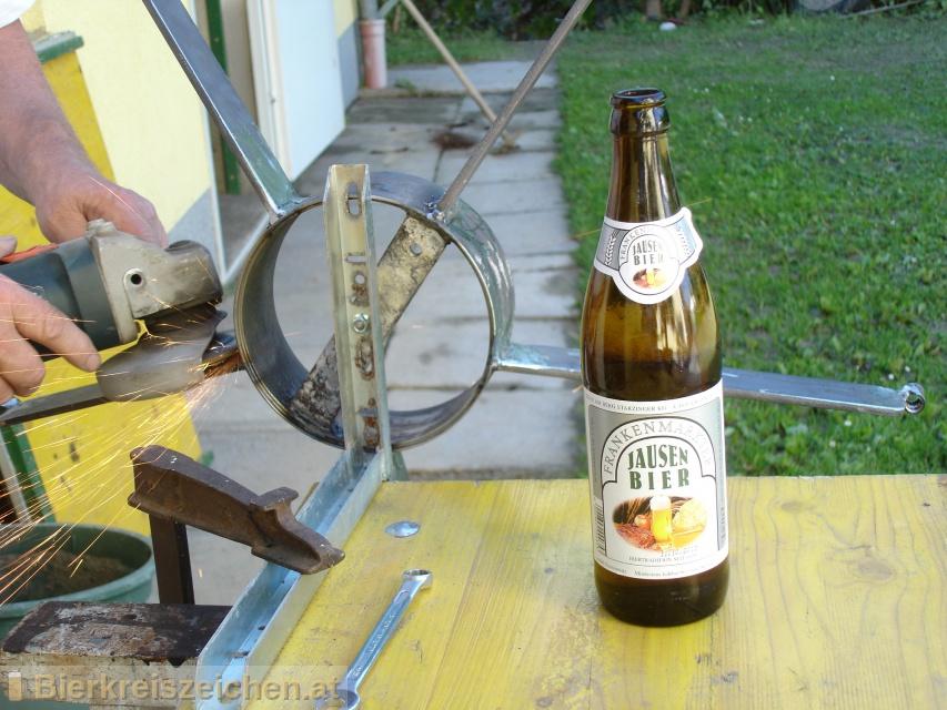 Foto eines Bieres der Marke Frankenmarkter Jausenbier aus der Brauerei Starzinger GmbH & Co KG