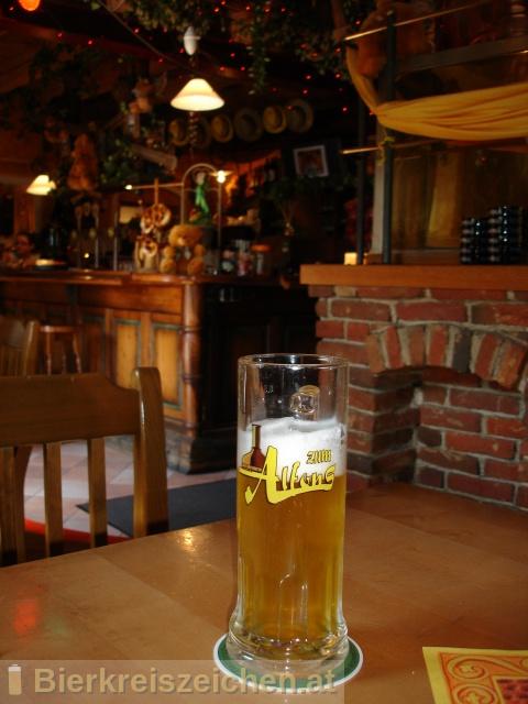 Foto eines Bieres der Marke Alfonsbier aus der Brauerei Gasthausbrauerei Zum Alfons