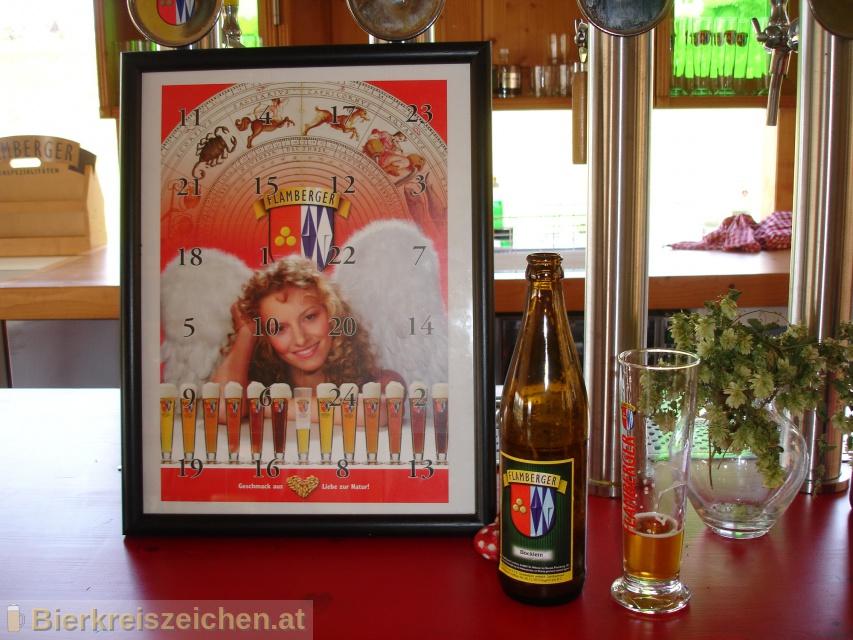 Foto eines Bieres der Marke Flamberger Böcklein aus der Brauerei Brauerei Flamberger