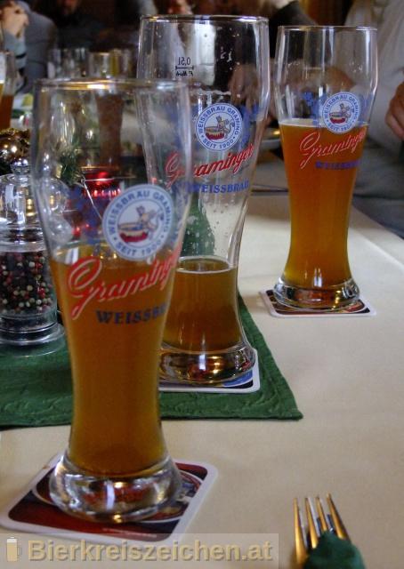 Foto eines Bieres der Marke Graminger Weissbier aus der Brauerei Graminger Weissbräu