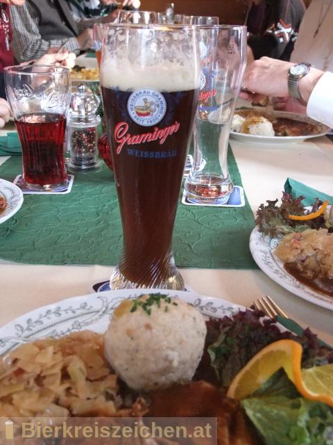 Foto eines Bieres der Marke Graminger Berggeist aus der Brauerei Graminger Weissbräu