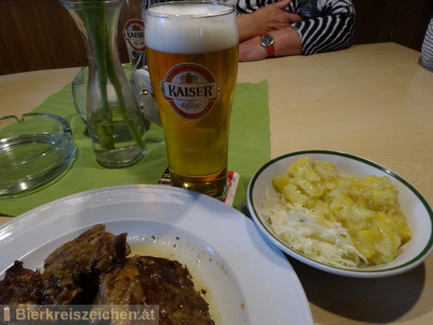 Foto eines Bieres der Marke Kaiser Fasstyp aus der Brauerei Brauerei Wieselburg