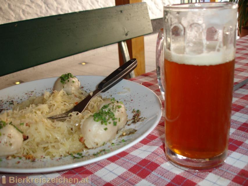 Foto eines Bieres der Marke Raggei-Kellerbier aus der Brauerei Raggei-Bräu
