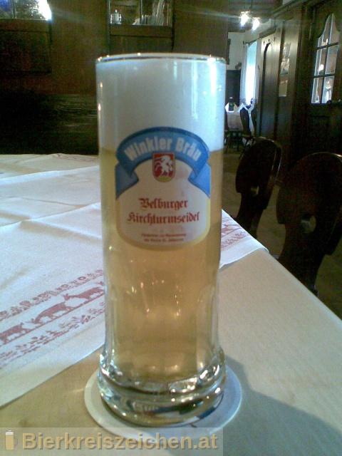 Foto eines Bieres der Marke Velburger Kirchturmseidel aus der Brauerei Winkler Bräu