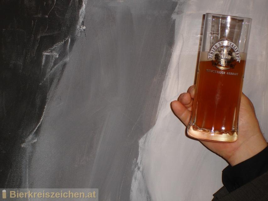 Foto eines Bieres der Marke Kaltenhauser Weisse aus der Brauerei Hofbräu Kaltenhausen