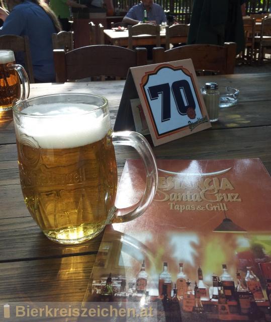 Foto eines Bieres der Marke Pilser Urquell Radler aus der Brauerei Plzensky Prazdroj